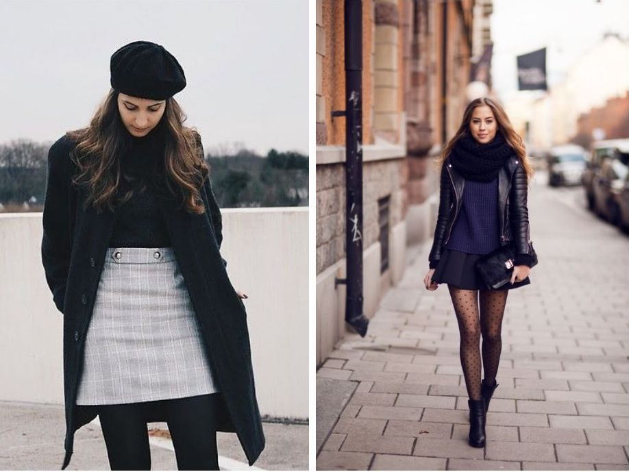 winter fashion and womens fashion essential for winter, tights!