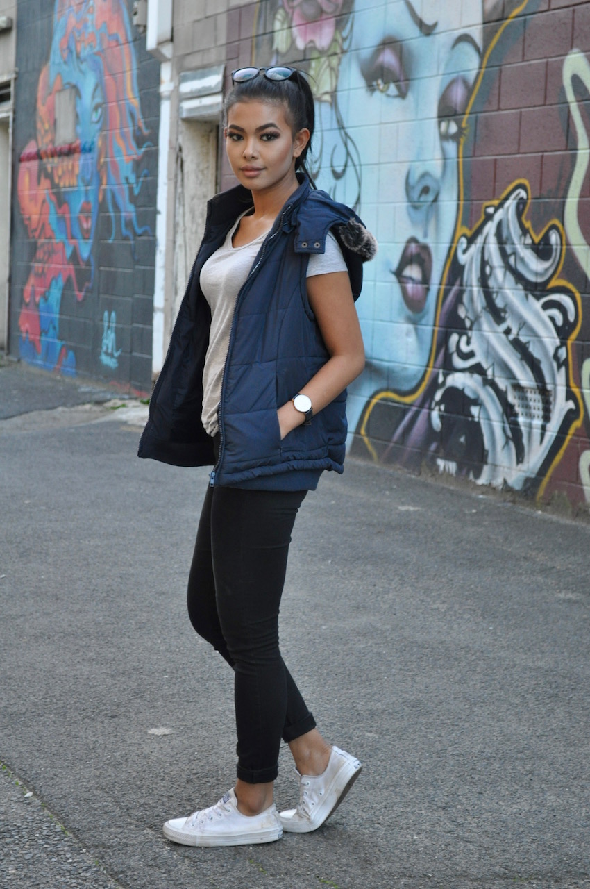 "SA: Amy Stephens, hair stylist, O'Connell St, North Adelaide. ""I love fashion and I love clothes."""