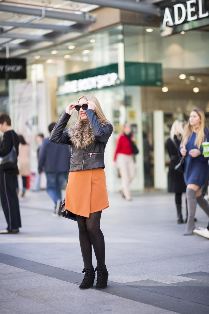 SA: Claudia Menechella, Student, Rundle Mall. Photo: Eli Francis