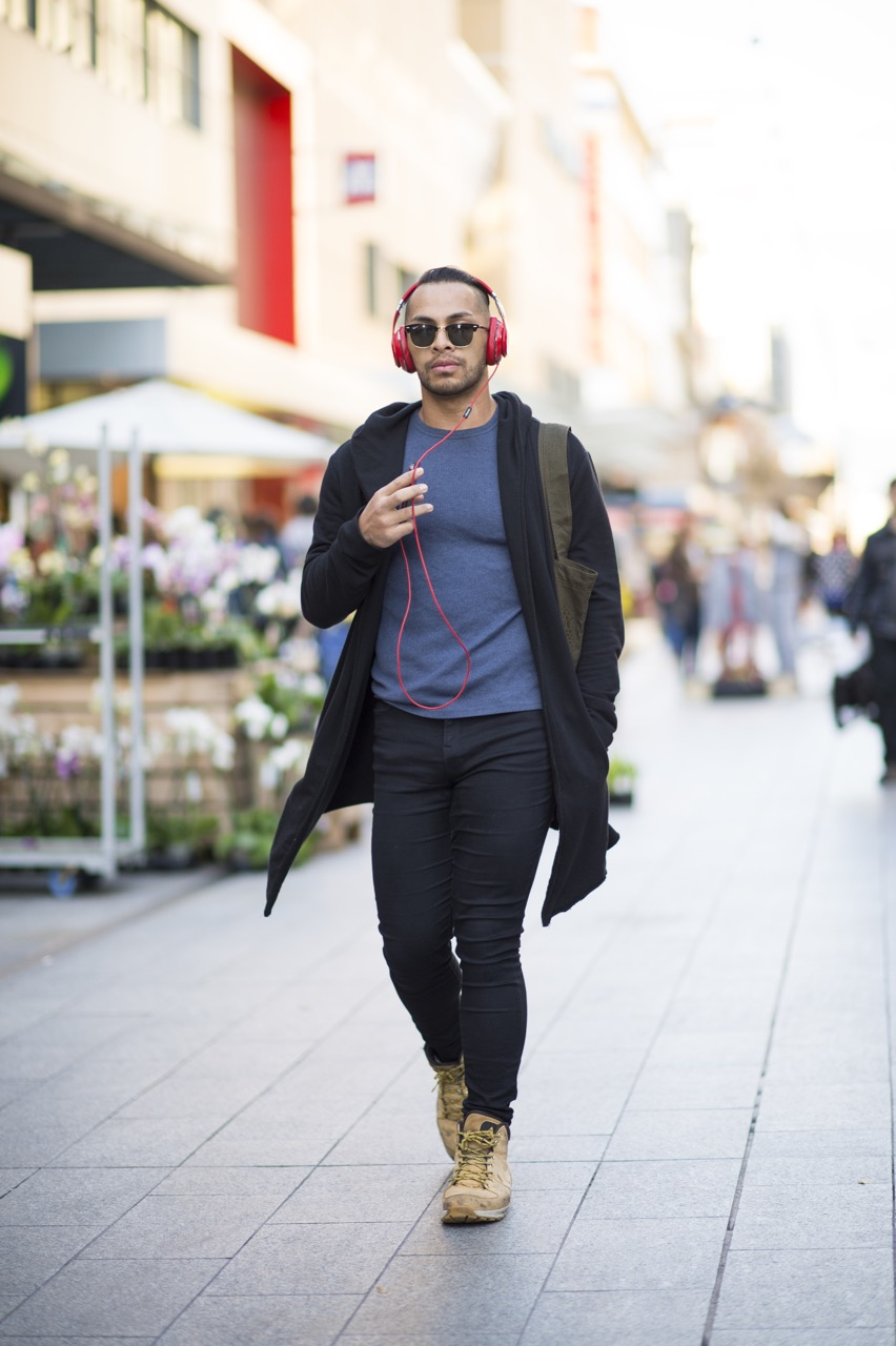 SA: Thomas Fonua, Dancer, Rundle Mall. Photo: Eli Francis