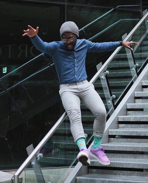 """Happy Socks.  Photo: <a href=""""https://www.instagram.com/tweetymonkey/"""" target=""""_blank"""">@tweetymonkey</a>"""