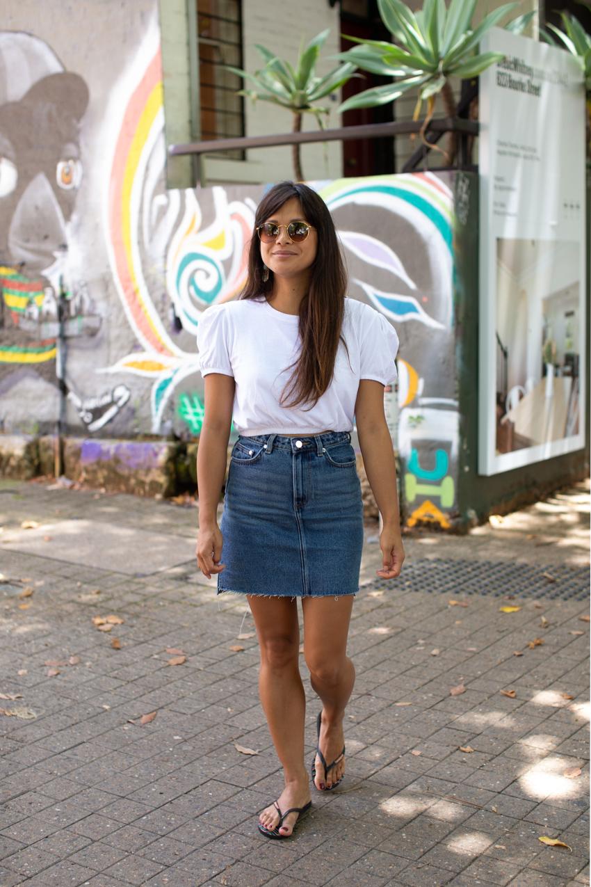"Sydney: Jenna Elchico (Recruitment), Surry Hills. ""I'm off to eat a snack."" Photo: Maree Turk"