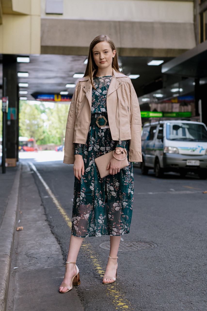 "SA: Silvana Weyerhauser-Maher, student, Stephens Place Adelaide. ""I love to feel my personality comes through in my outfits."""