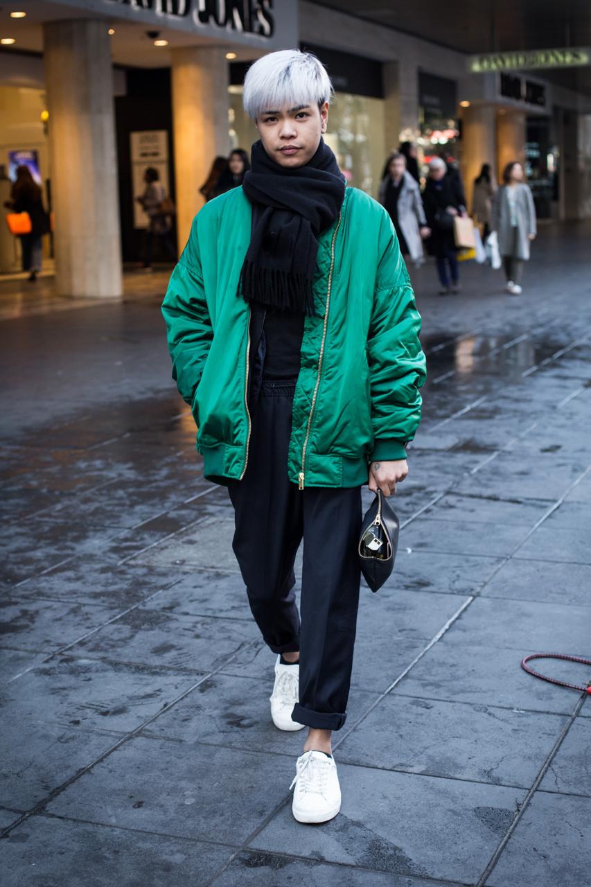 """VIC: Jhaironne DeGuzman, sales assistant, Bourke St, Melbourne. """"Extra!"""" Photo: Zoe Kostopoulos"""