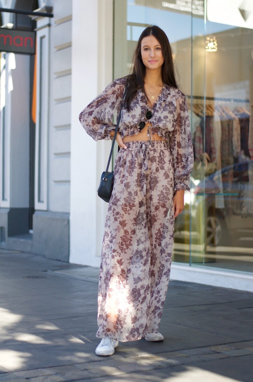 """Adelaide: Olivia Sommariva, Law & Media Student & Fashion Retailer, <a href=""""https://www.rundlestreet.com.au/"""" target=""""_blank"""">Rundle Street East</a>. """"On a quick break from work."""""""
