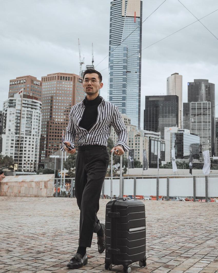 Melbourne: Kev, Fashion Blogger, Photo: Carlos Josue.