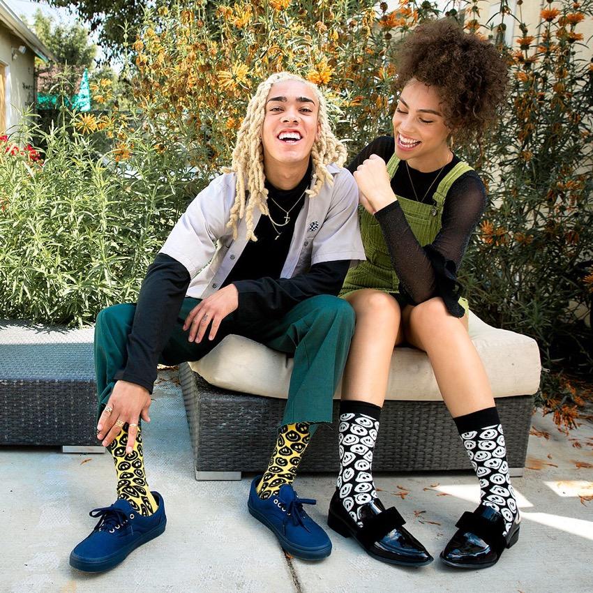 """Street Style Australia - Happy Socks Photo: <a href=""""https://www.instagram.com/happysocks/?hl=en""""target=""""_blank"""">@happysocks</a> #sp"""