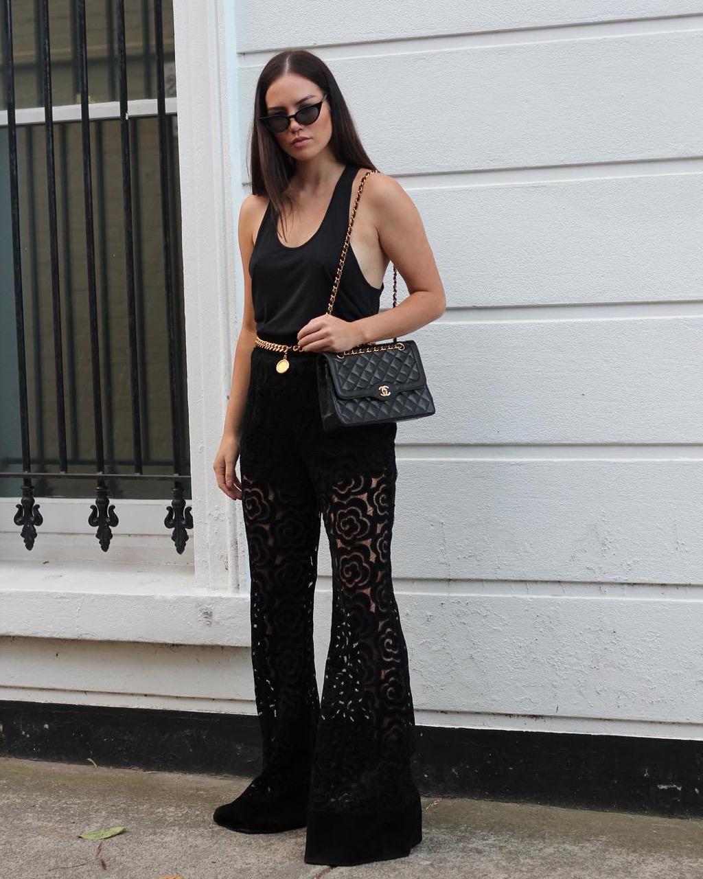 "Melbourne: Imogen, Fashion Blogger, ""Life in colour."""