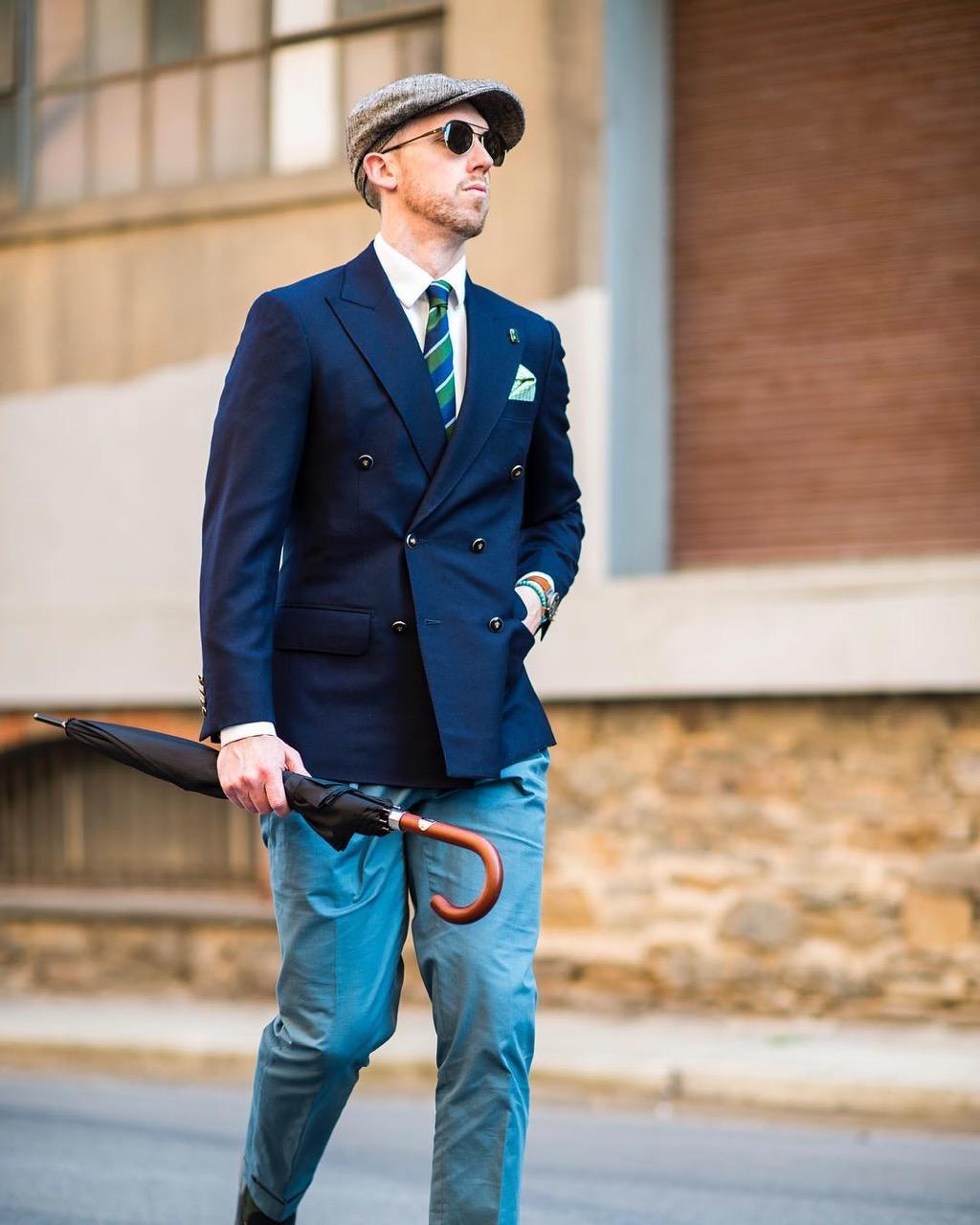 "Adelaide: Steve, Fashion Blogger, Port Adelaide, ""Bespoke tailoring at its finest"""