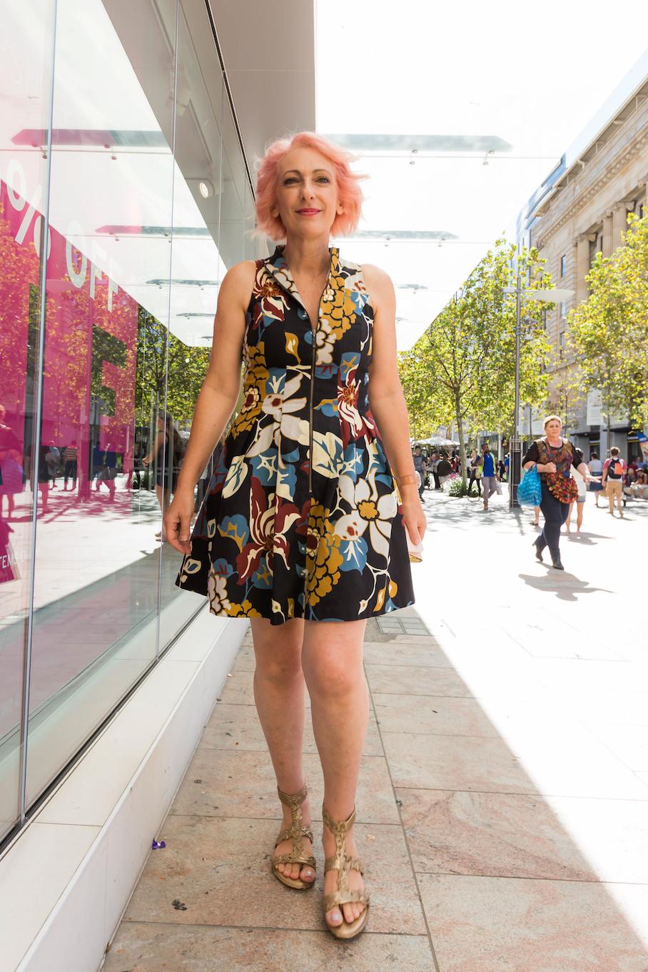 "WA: Jo De Brito, Store Owner, Perth. ""I love Melissa shoes."" Photo: <a href=""http://www.rahstudios.com.au/street-style.html/"" target=""_blank"">Alain Quah</a>"