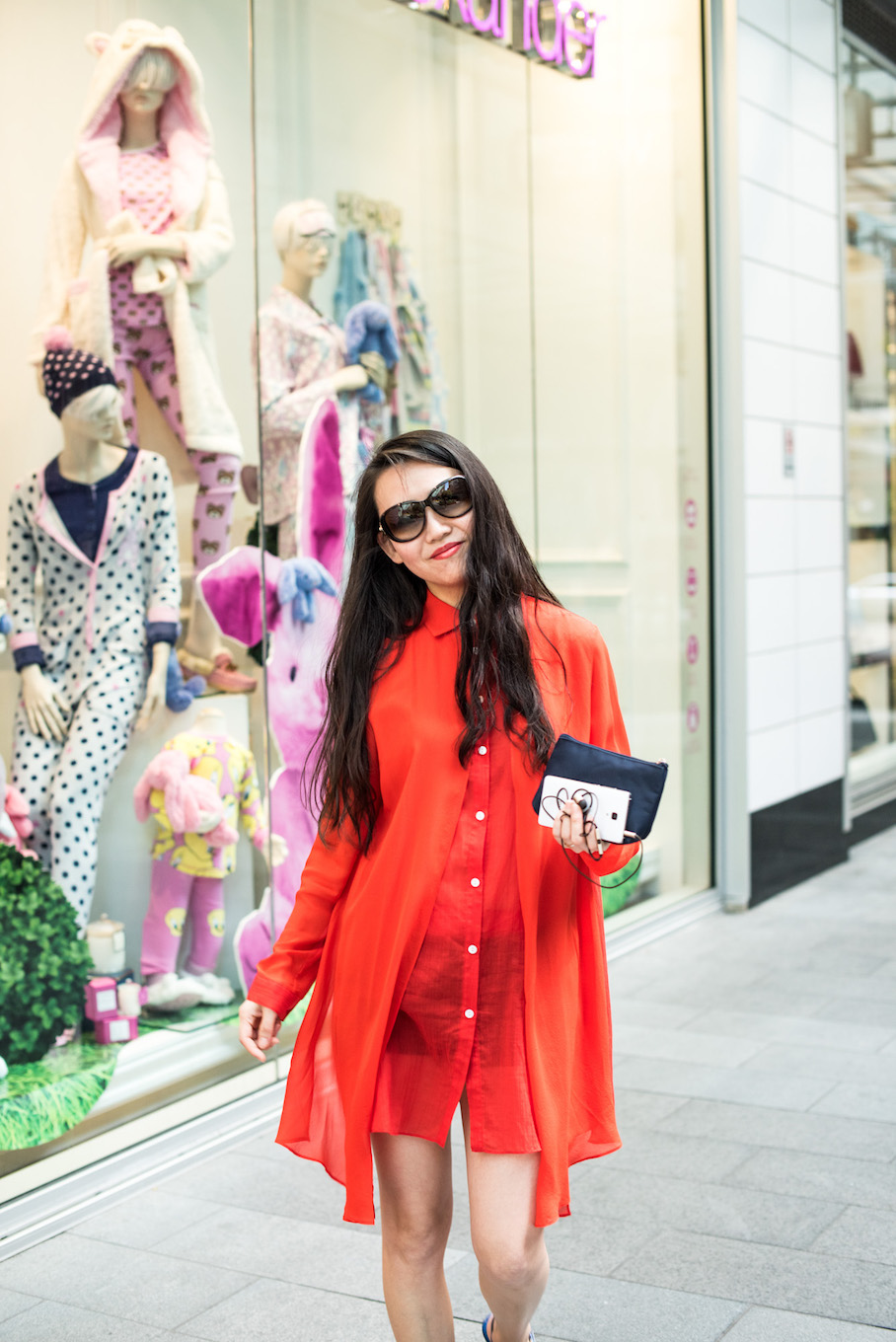 "NSW: Lin, Student, Pitt St Sydney. ""I love red clothes."" Photo: <a href=""http://frederiquemadi.com/"" target=""_blank"">Frédérique Madi </a>"