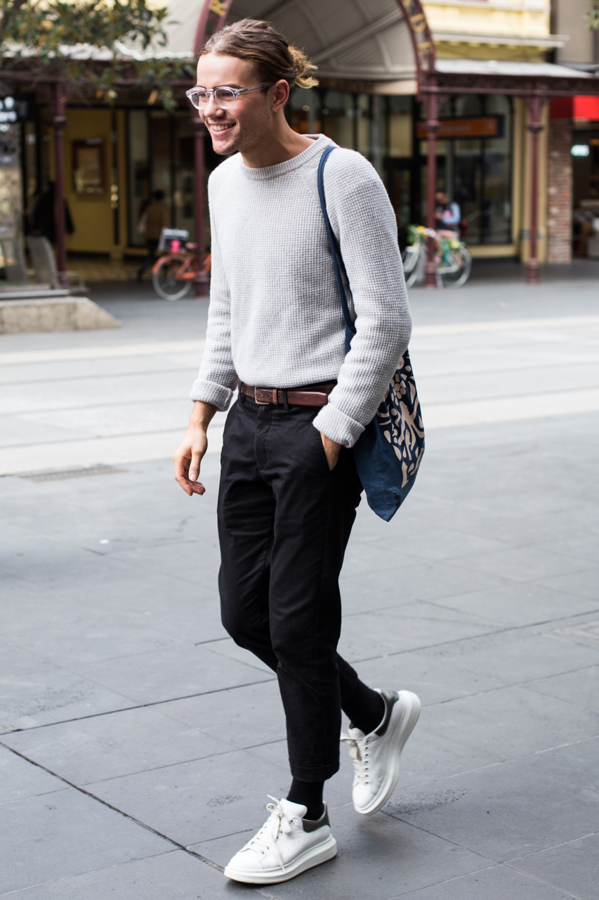 VIC: Oliver Bowering, sales consultant, Bourke St Mall.  Photo: Zoe Kostopoulos