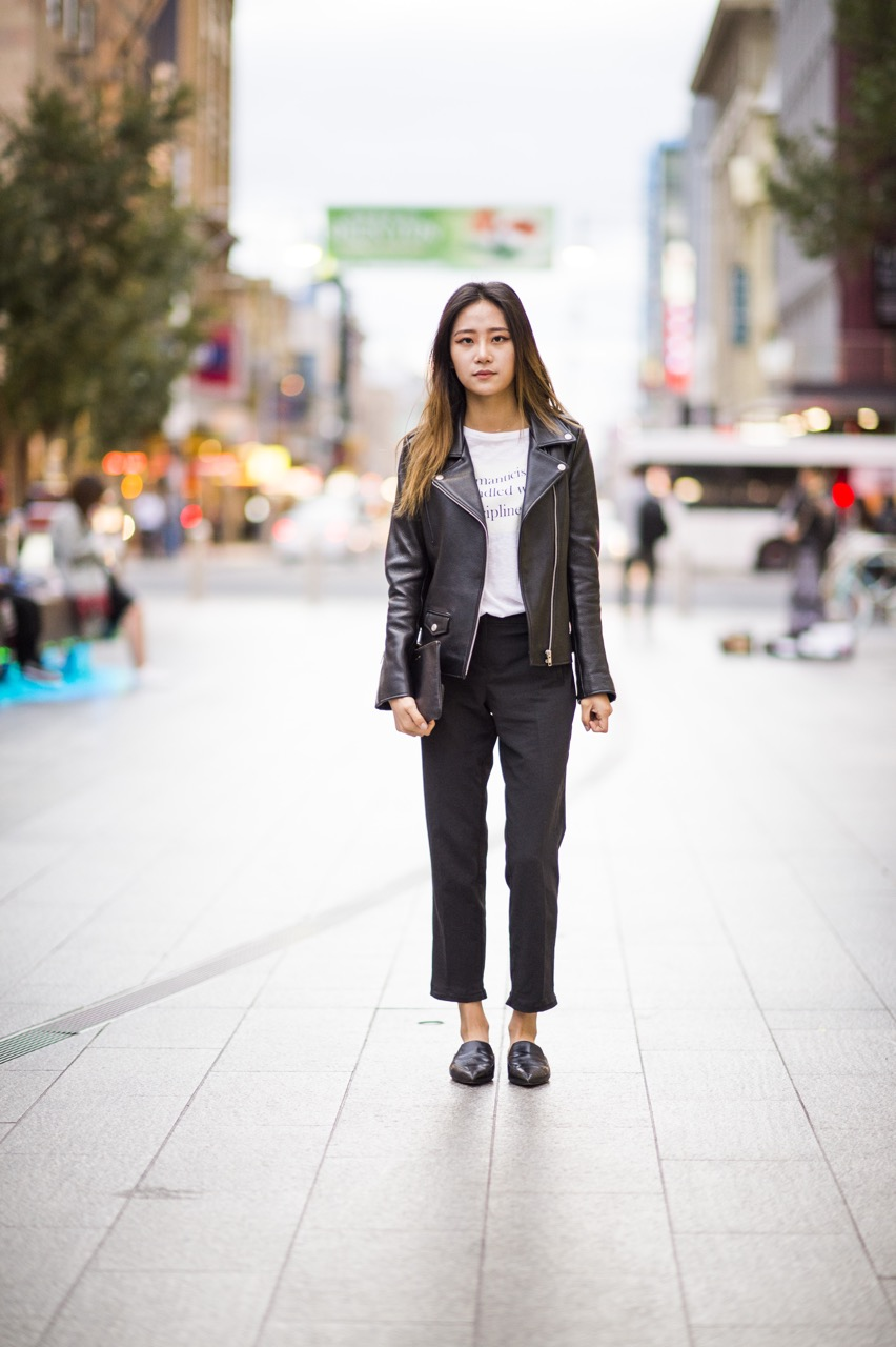 SA: Nora Choi, student, Rundle Mall. Photo: Eli Francis