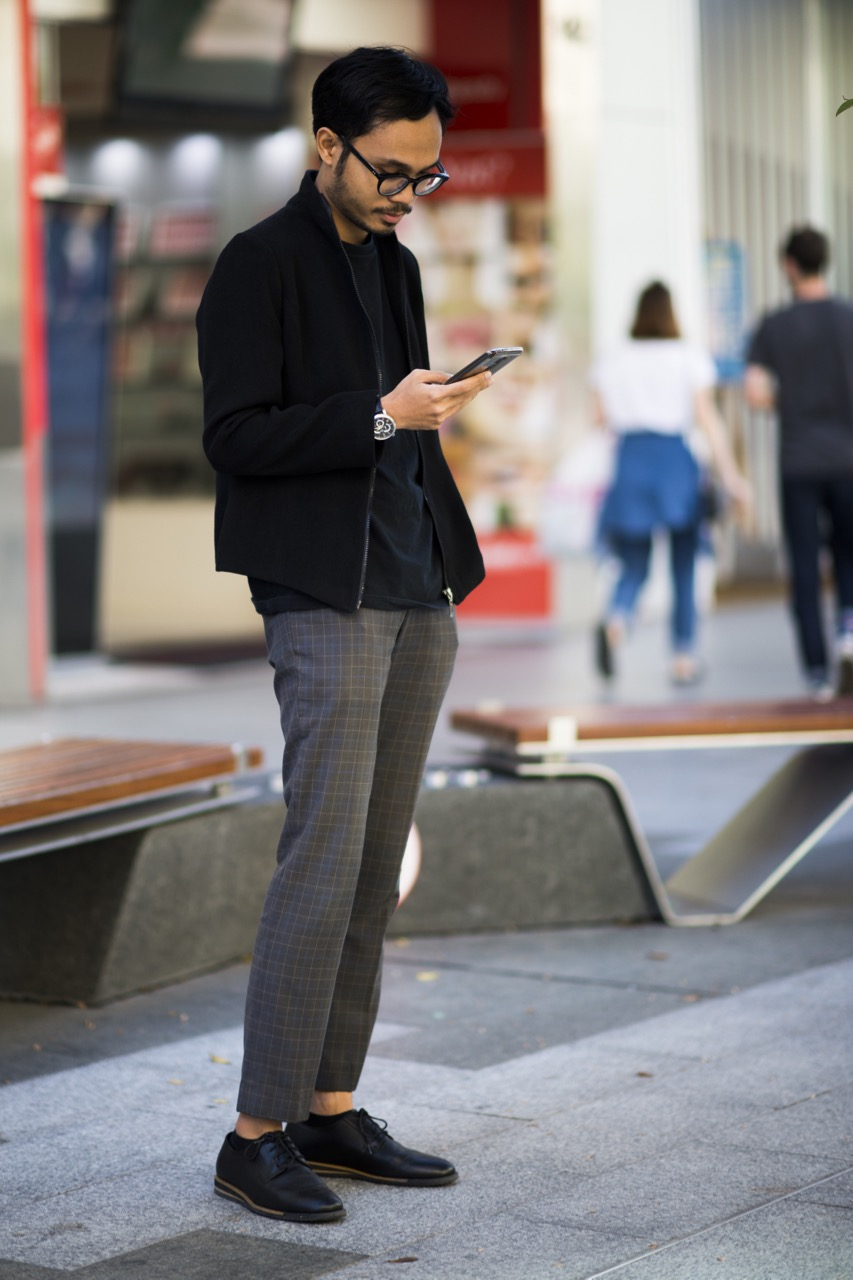 SA: Fawwaz, designer, Rundle Mall. Photo: Eli Francis