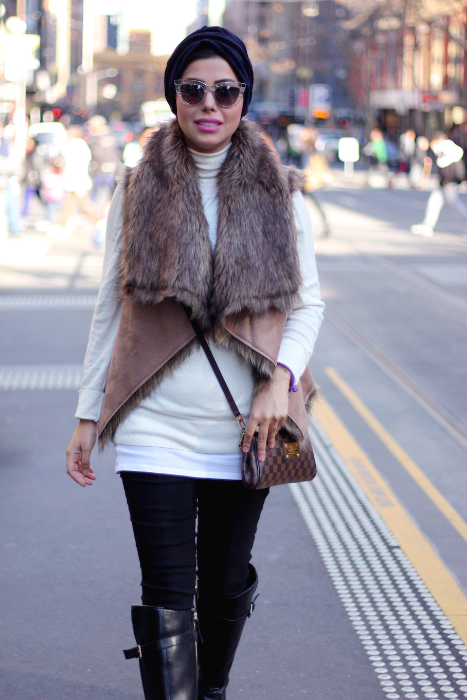 """Vic: Zainab, Banker, Bourke St, Melbourne. <a href=""""http://www.marythamphotography.weebly.com/"""" target=""""_blank""""> Photo: Mary Tham </a>"""