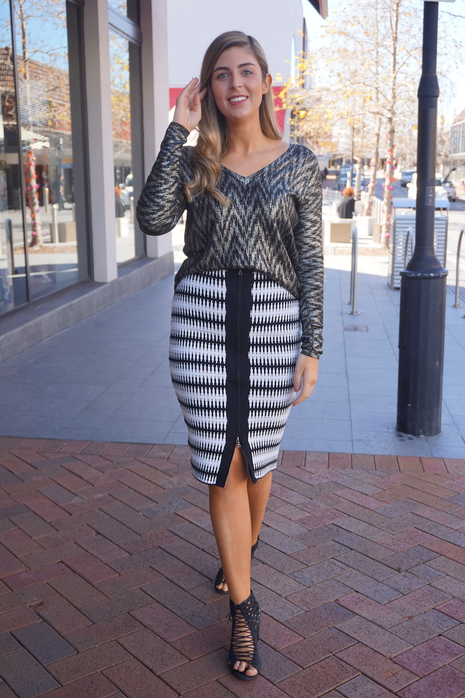 """WA: Georgia Turner, stylist, Claremont Quarter. """"My love for Sass and Bide is forever."""""""