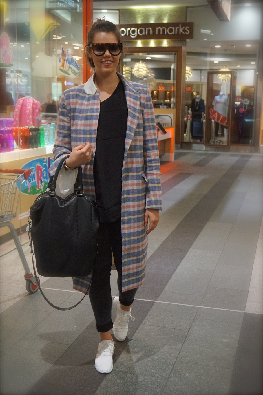 """WA: Hannah Stock, retail assistant, Claremont Quarter. """"I like to dress for fun and comfort."""""""