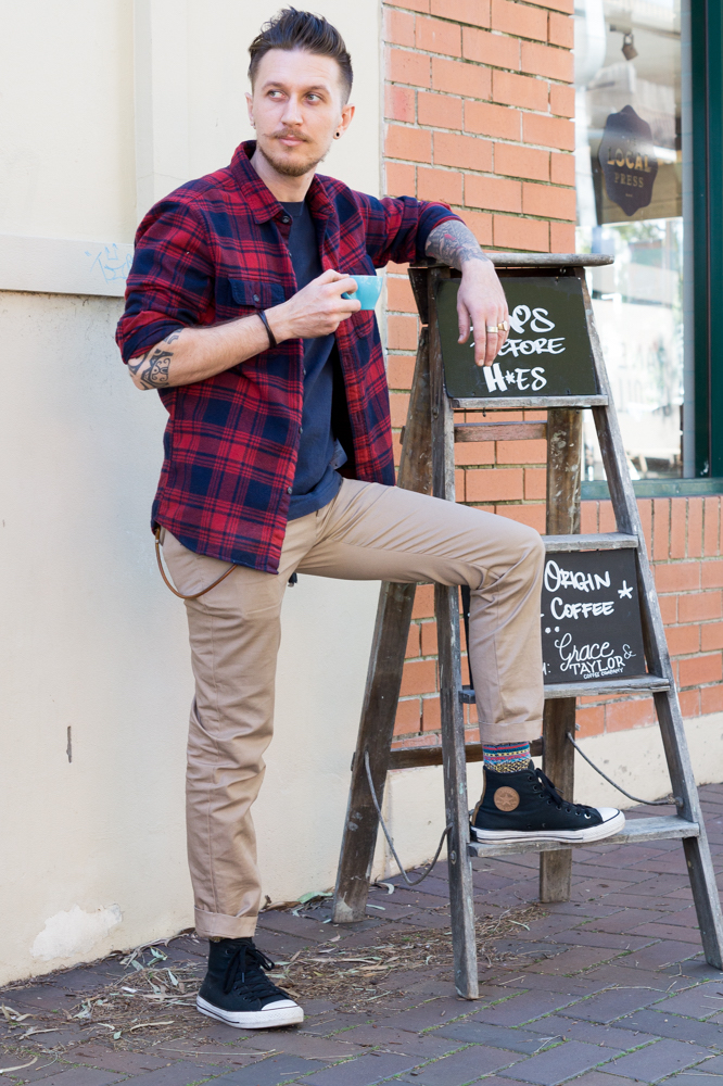 """NSW: Arthur Pach, Barista, Lilyfield. """"I'm comfy and ready for all urban activities."""" Photo: Anastasia Fua"""