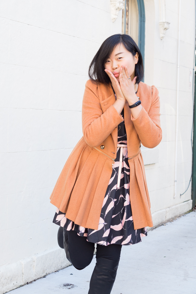 "NSW: Hongyan Ao, Accountant, Chippendale. ""My style's comfy and vibrant."" Photo: Anastasia Fua"