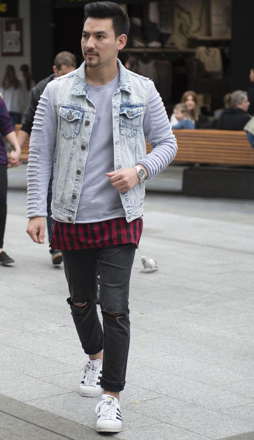 SA: Hamid Muradi, Rundle Mall, Adelaide. Photo: Eli Francis