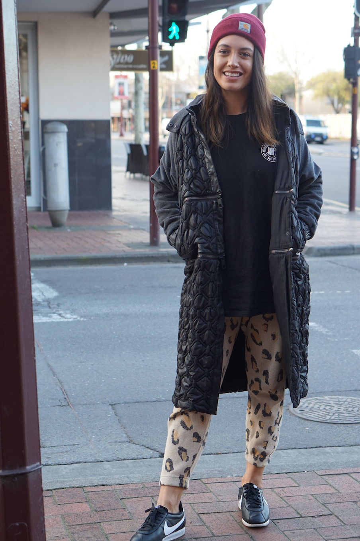 "SA: Aalia Hape, retail, North Adelaide. ""I wish coffee dates lasted forever."""