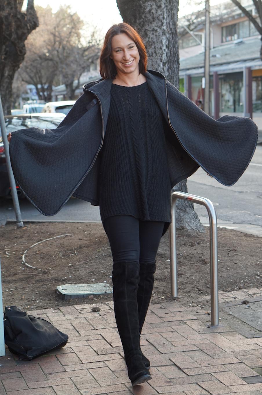 "SA: Jordan Samson, retail, Archer St, North Adelaide. ""I wear all black everyday."""