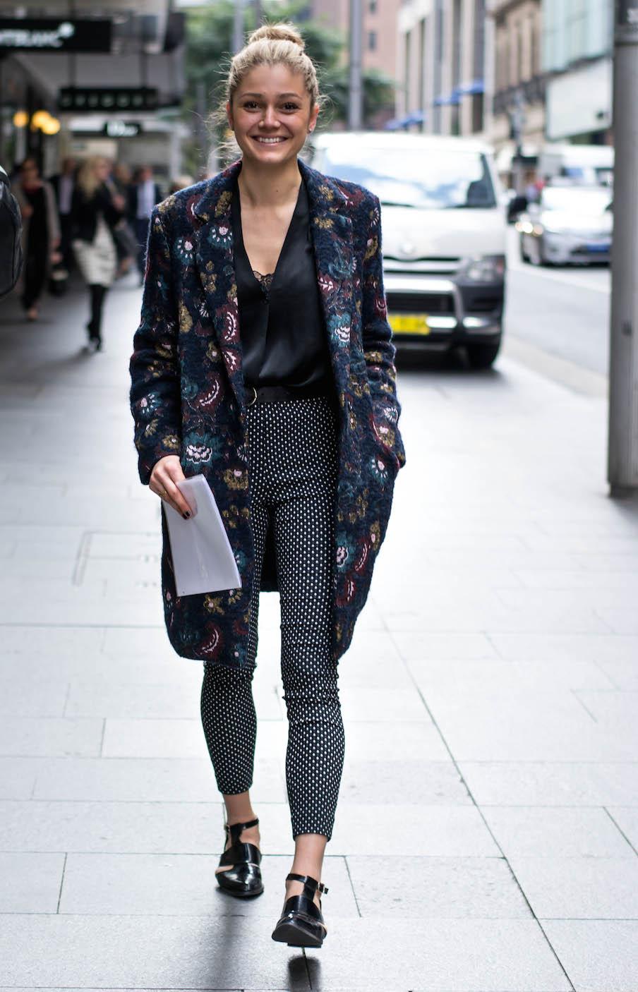 "NSW: Elena Bijelic, executive assistant, Castlereagh St, Sydney. ""Got stuff but…."" Photo: Alice Scriberras"