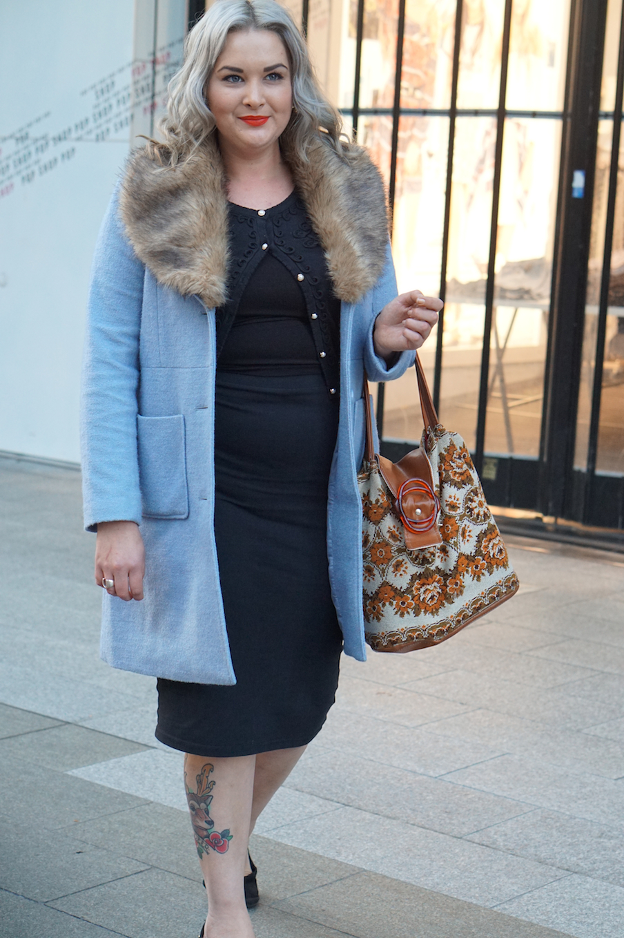 """SA: Grace Weber, retail assistant,  Adelaide city. """"I wear faux fur only. Never real. """""""