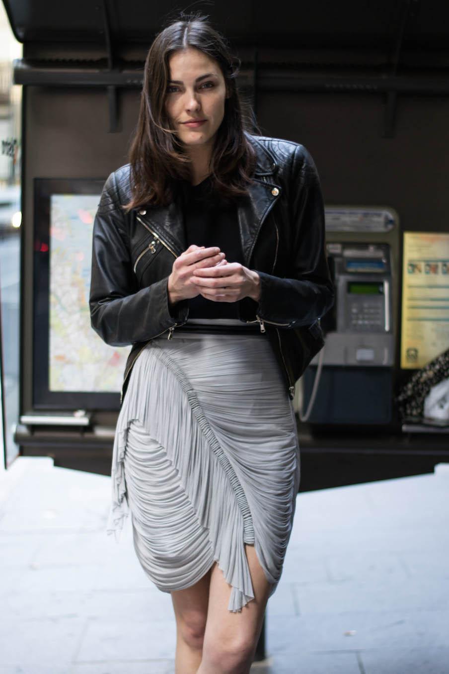 "NSW: Lola Van Vorst, Willow manager, Sydney CBD.""My style's tomboy with a feminine edge."" Photo: Alice Scriberras"