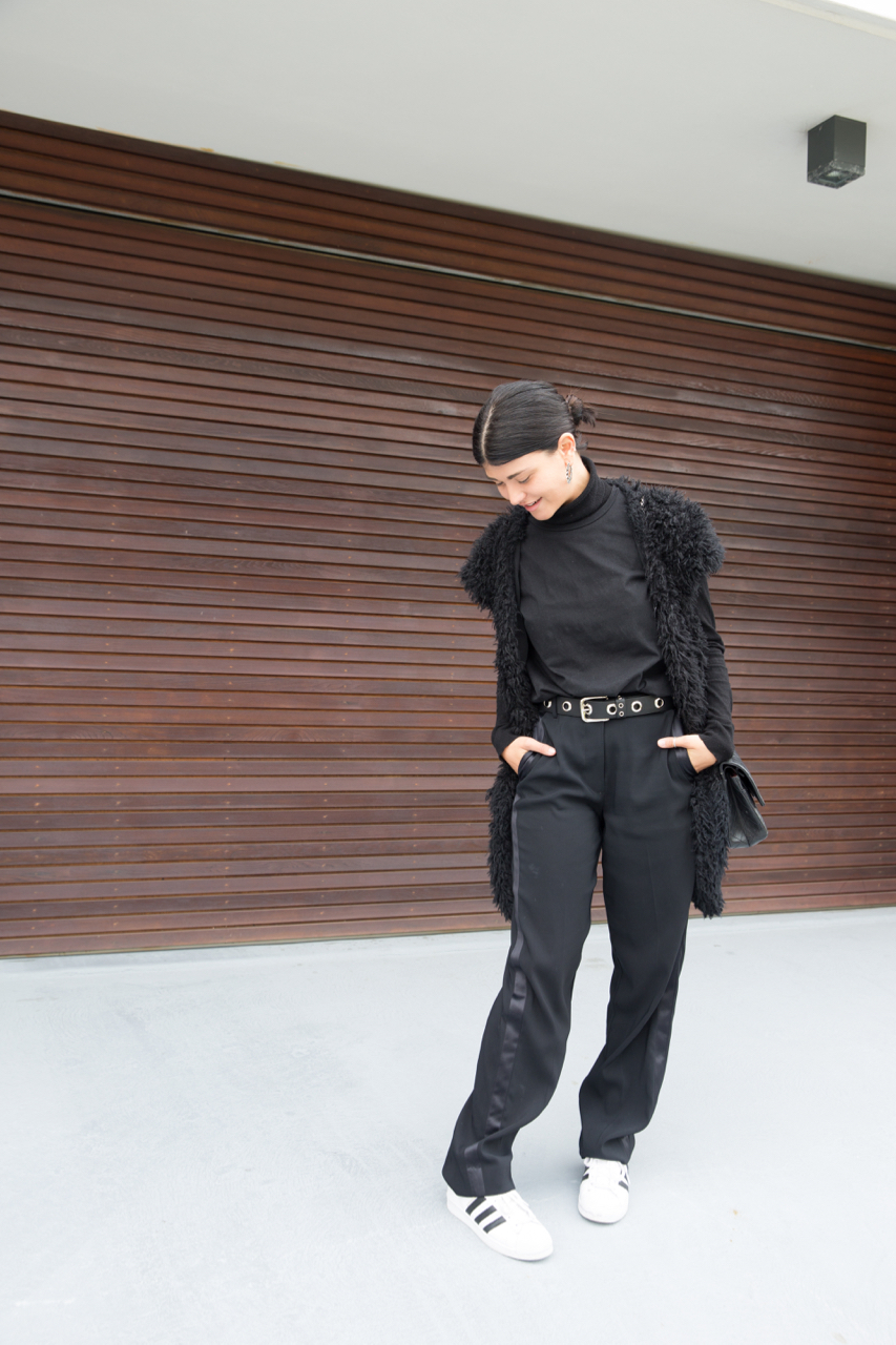 "NSW: Danielle Soglimbene, Stylist. ""My style is comfy yet chic."" Photo: Anastasia Fua"