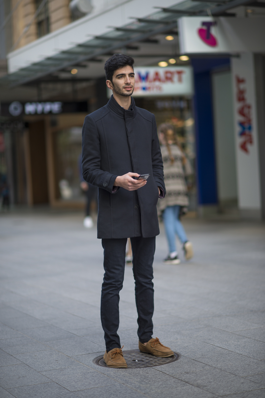 SA: Dylan Mohmmadi, Student, Rundle Mall. Photo: Eli Francis