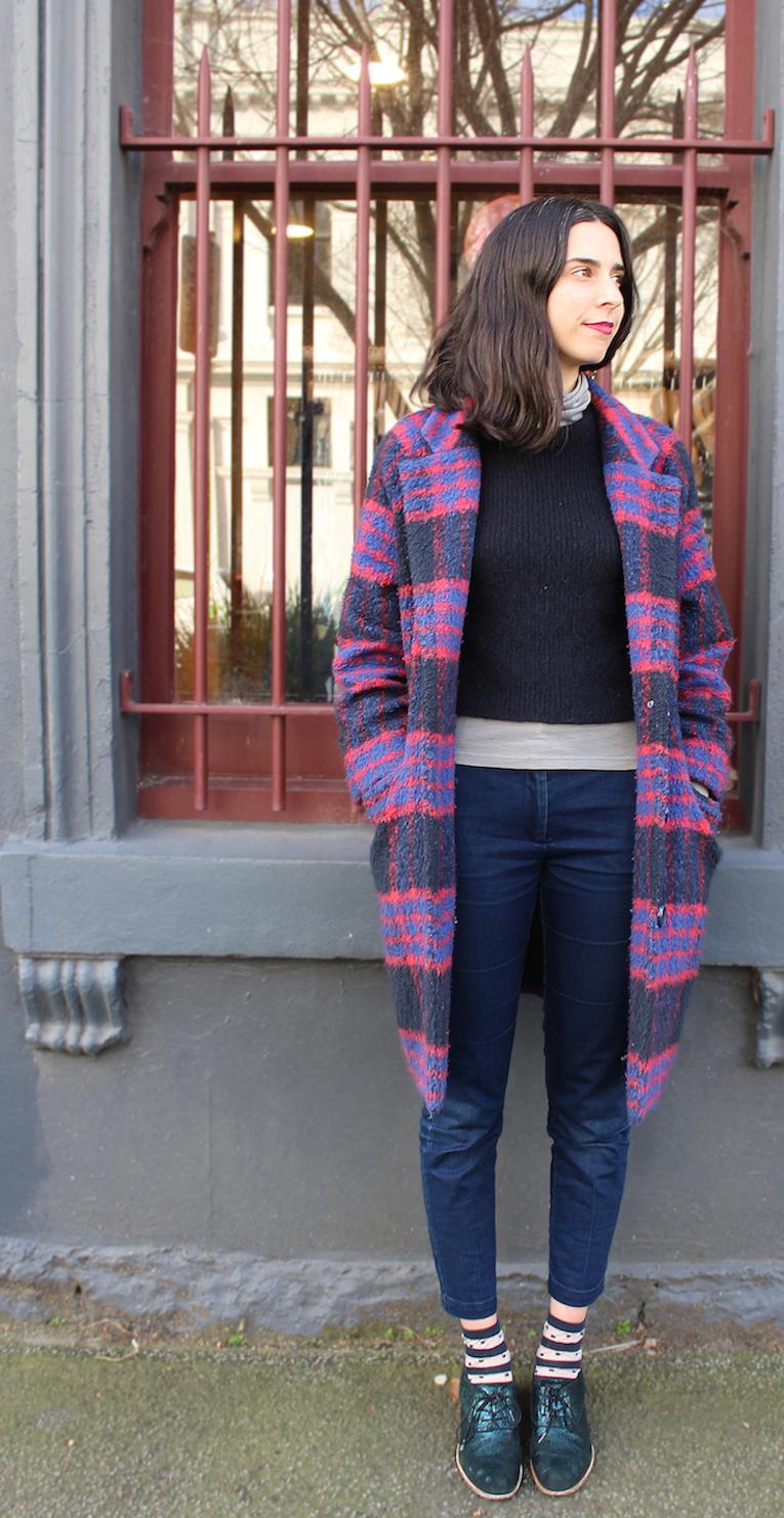 "Vic: Alice Giblin, store manager,  Brunswick St Fitzroy. ""I like casual, easy, no frills."" Photo: Jenna Barlow"