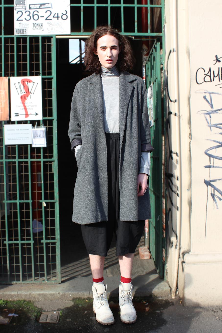 "Vic: Mackenzie Eaton,  Brunwick St Fizroy. ""My style's constantly evolving. So what.""  Photo: Jenna Barlow"