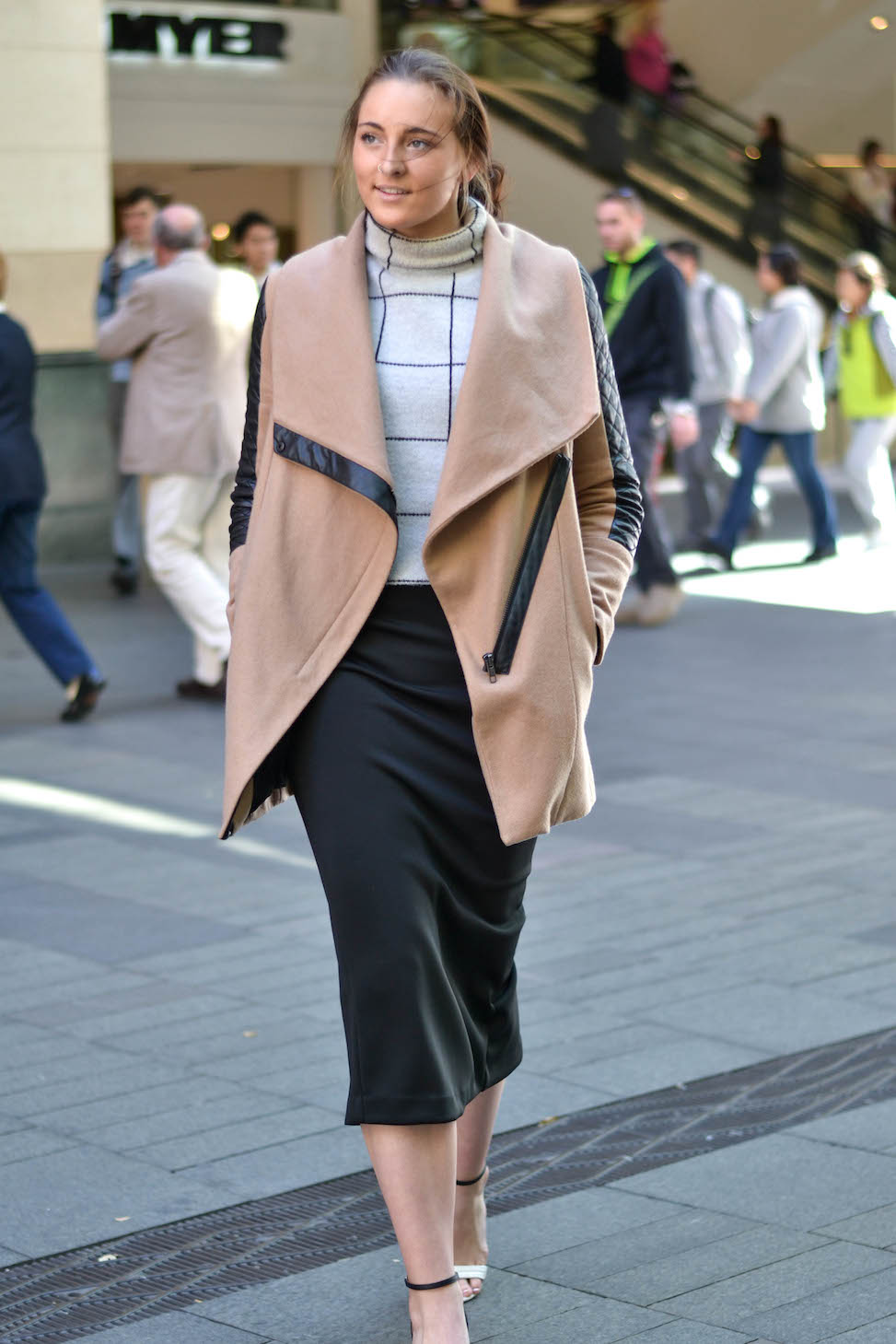"NSW: Laine Thornton, brand ambassador, Sydney. ""In one sentence, my style's surf-to-city."" Photo: Alice Scriberras"