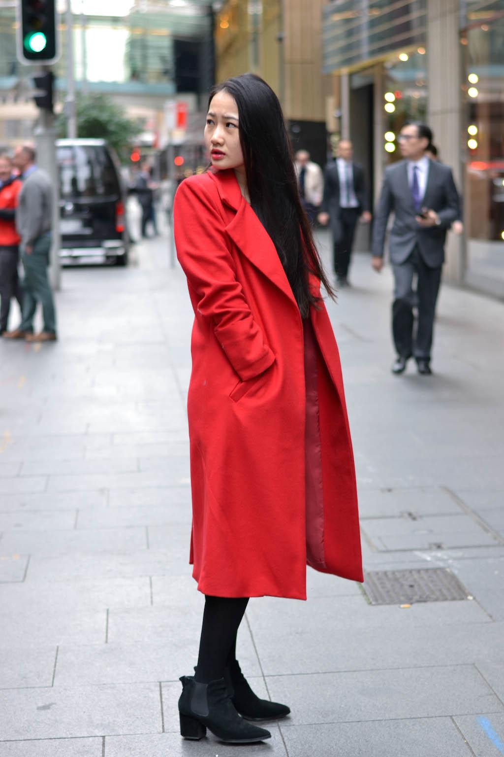 "NSW: Ke Jun Zhan, jewellery consultant, Sydney CBD. ""A negative mind will never give you a positive life."" Photo: Alice Scriberras."
