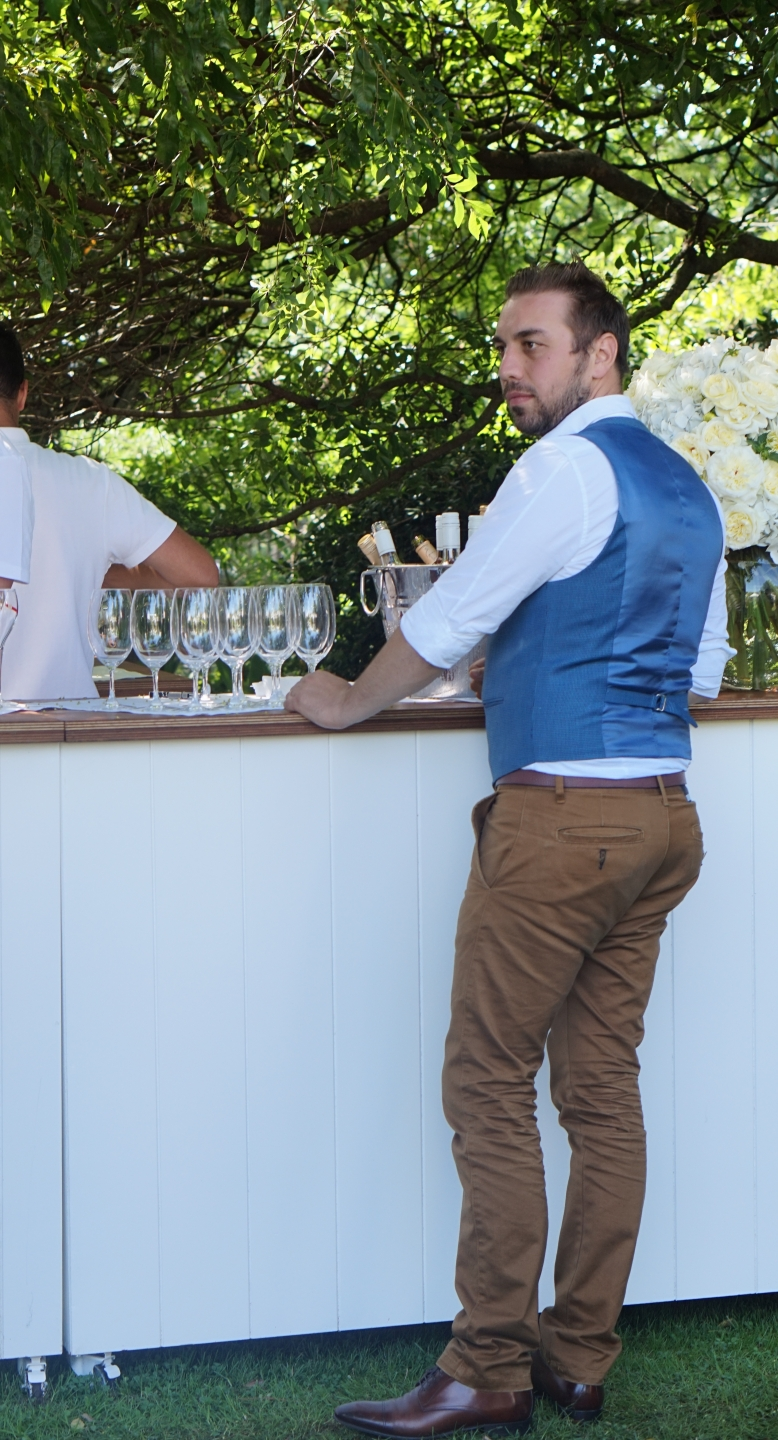 """William, Engineer, spotted at  Garden Pary, South Yarra . """"Haven't you got enough photos of me yet?"""""""