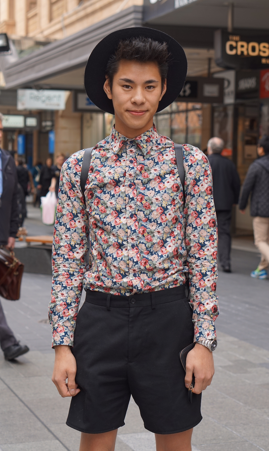 """SA: Nicholas Tran, physiotherapy student, Rundle Mall. """"Dress like it's your last day."""