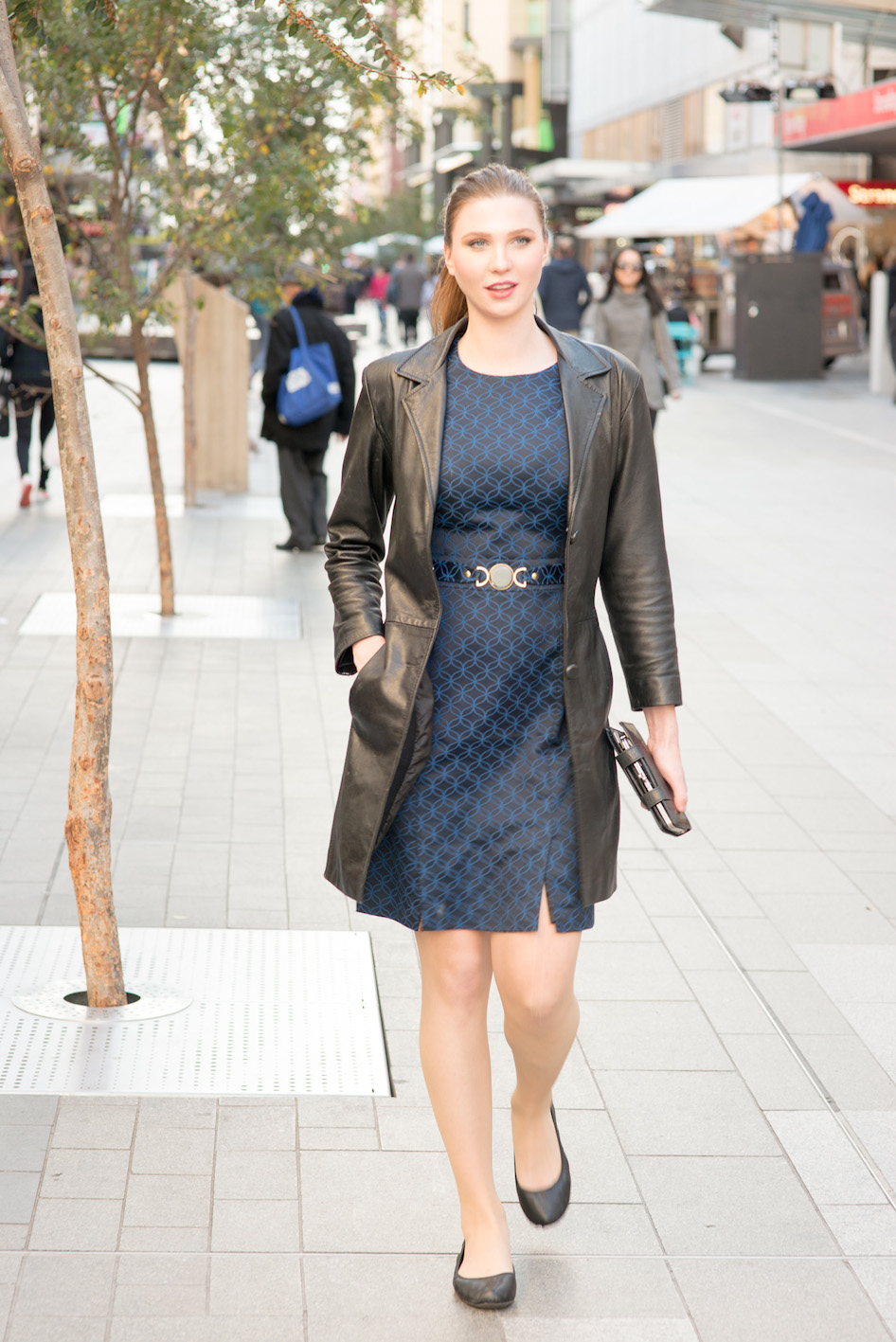 "SA: Rebecca Niven, teacher,  Rundle Mall, Adelaide. <a href=""http://www.foxowlphotos.com/"" target=""_blank""> Photo: John Wilson </a>"
