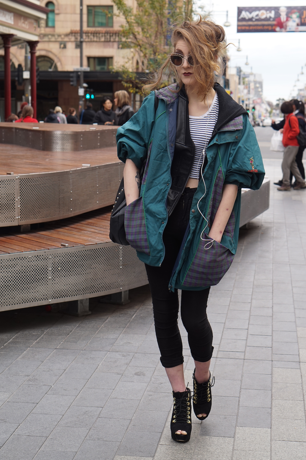 "SA: Monique Nelson, Barista, Rundle Mall. ""My style is vaudeville."""