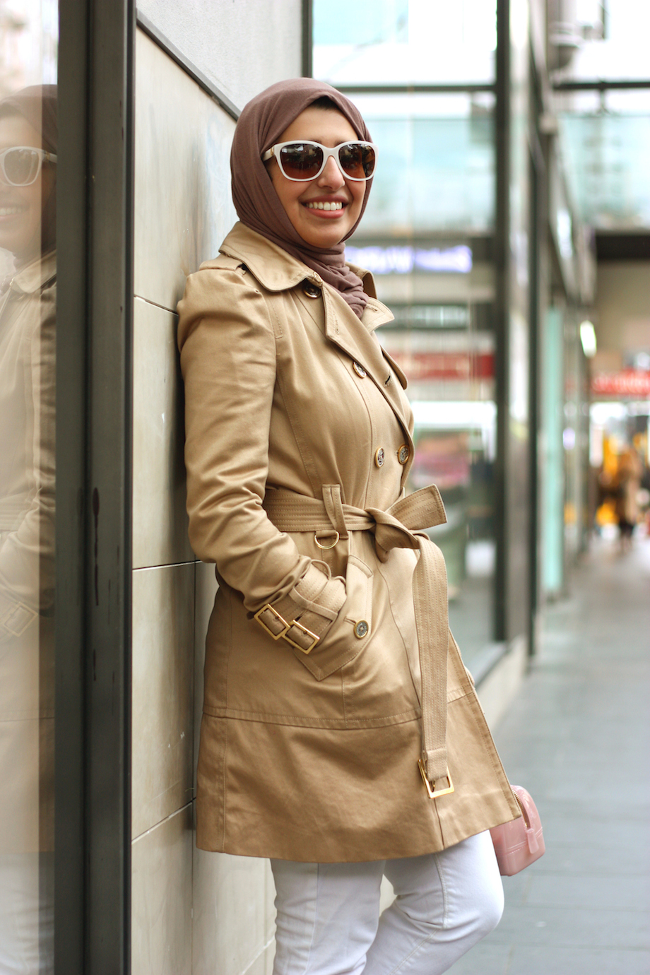 """Vic: Norah Albishri, student, Melbourne. """"My style's casual with basic colours.""""  <a href="""" http://www.marythamphotography.weebly.com/"""" target=""""_blank""""> Photo: Mary Tham </a>"""
