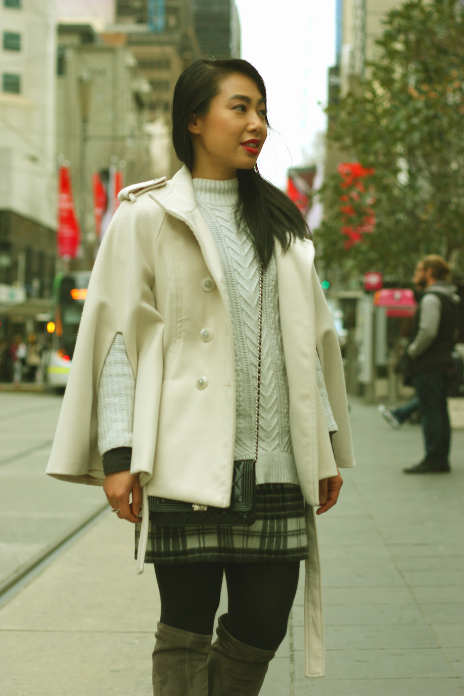 """VIC: Thao Vien, Admin, Bourke St Mall. Style: """"Easy and simple.""""  <a href="""" http://www.marythamphotography.weebly.com/"""" target=""""_blank""""> Photo: Mary Tham </a>"""