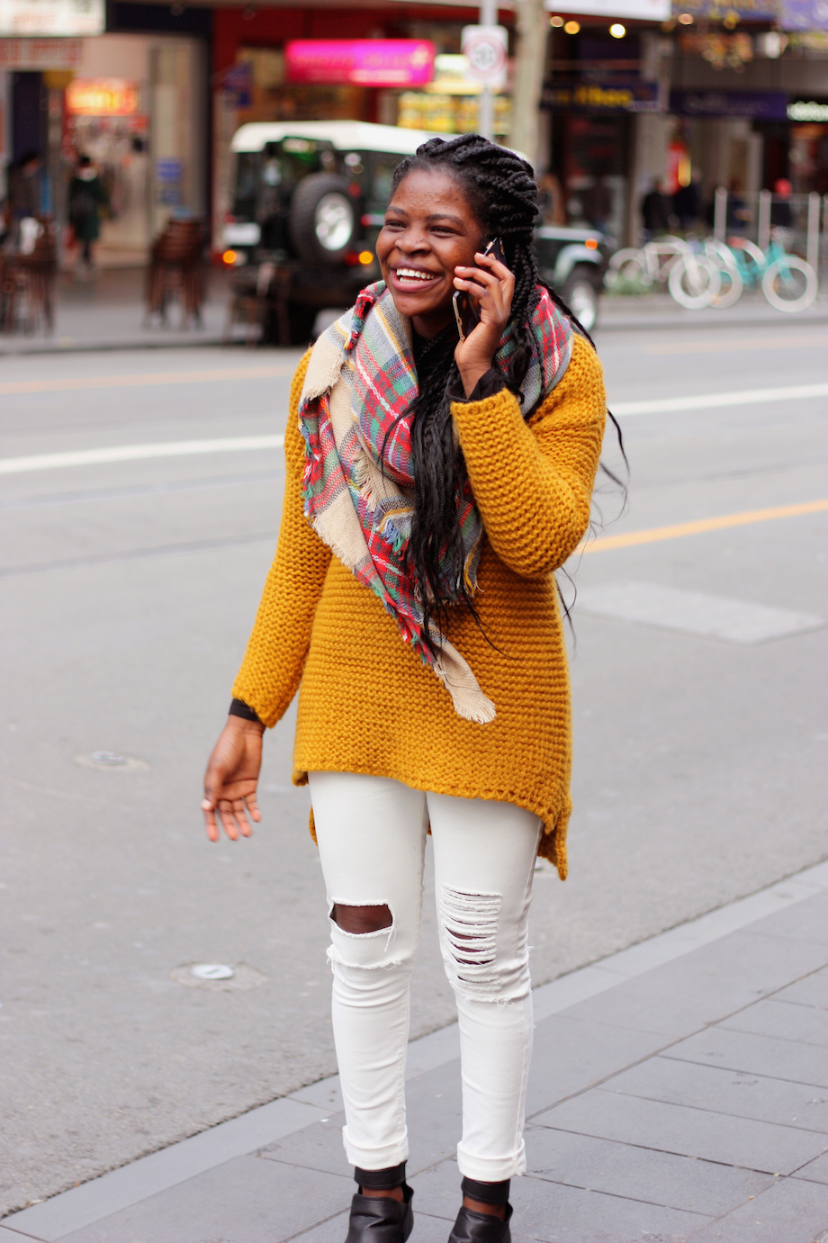 """Vic: Anger, student, Swanston St. """" My style's funny and quirky.""""  <a href="""" http://www.marythamphotography.weebly.com/"""" target=""""_blank""""> Photo: Mary Tham </a>"""