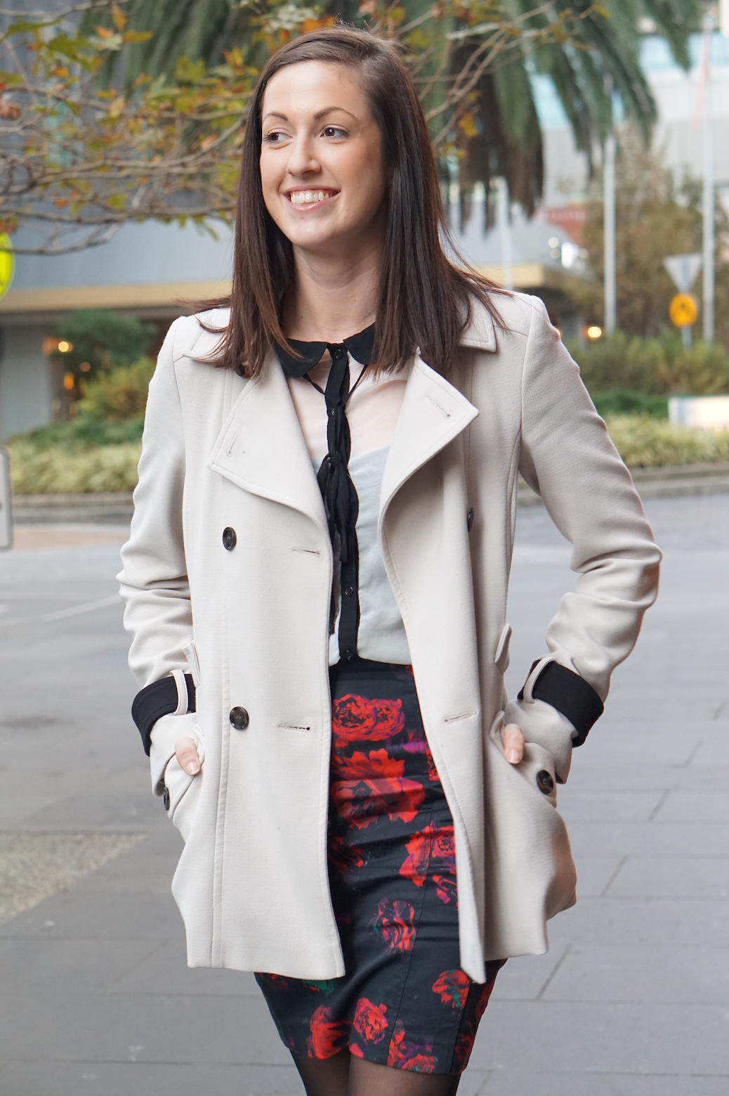 "VIC: Samantha Bluett, reservations Manager, Southbank. ""I'm meeting friends."""