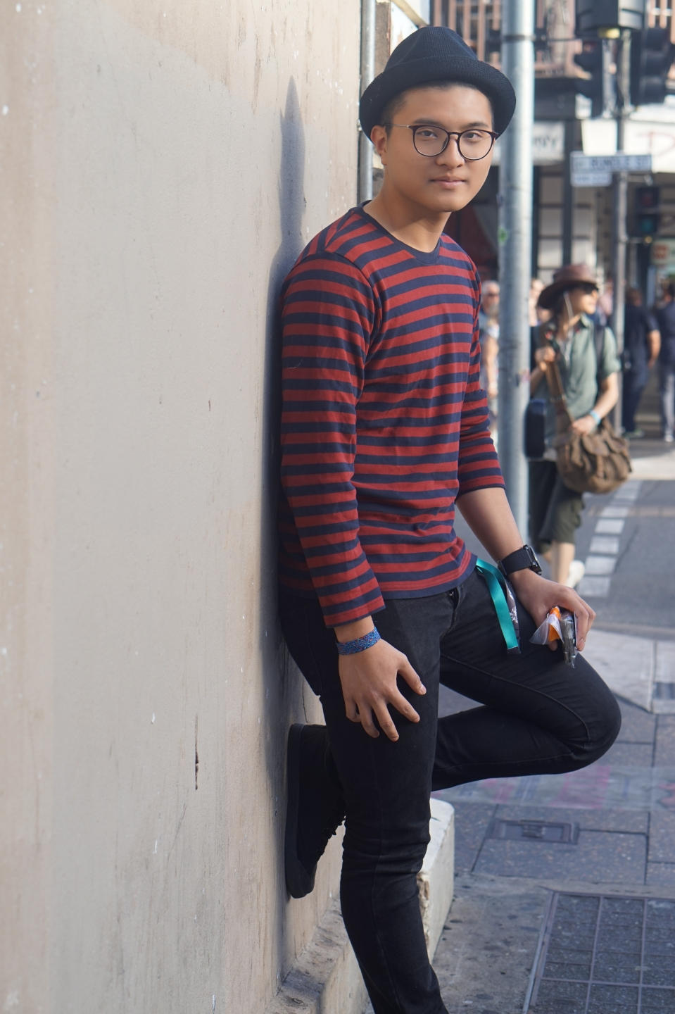 "SA: Dzauqi Raman, interior architecture student, Frome St. ""I'm a very simple guy."""