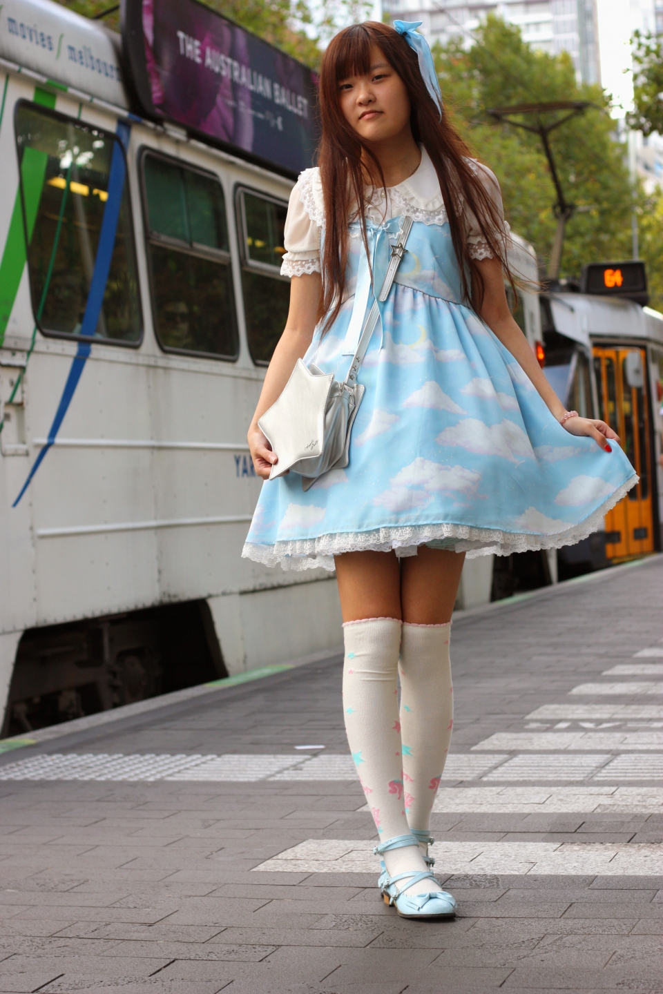 "VIC: Alice, student, Melbourne. ""My style is sweet Lolita.""  Photo: Mary Tham"