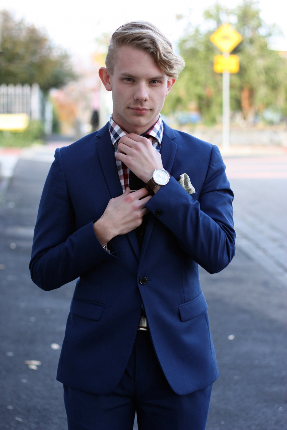 "VIC: Ned Considine, sales assistant, Chapel St, South Yarra. ""I like to think that I'm unique, but I probably just fall in with everyone else."" Photo: <a href=""http://marythamphotography.weebly.com""> Mary Tham.</a>"