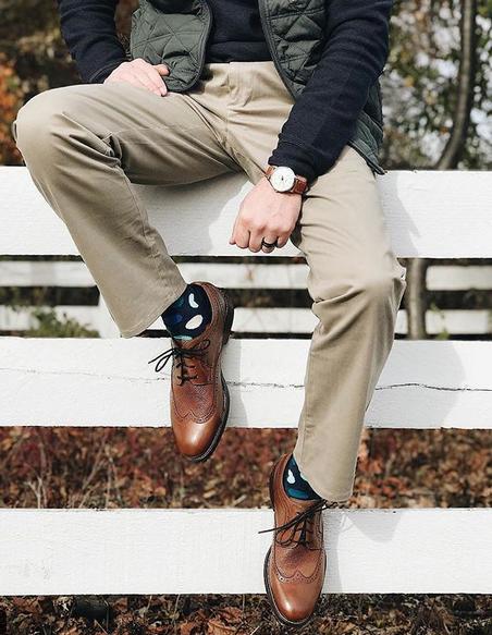 """Happy Socks. Photo: <a href=""""https://www.instagram.com/lahmanswife""""target=""""_blank"""">Lahmanswife</a> #sp"""