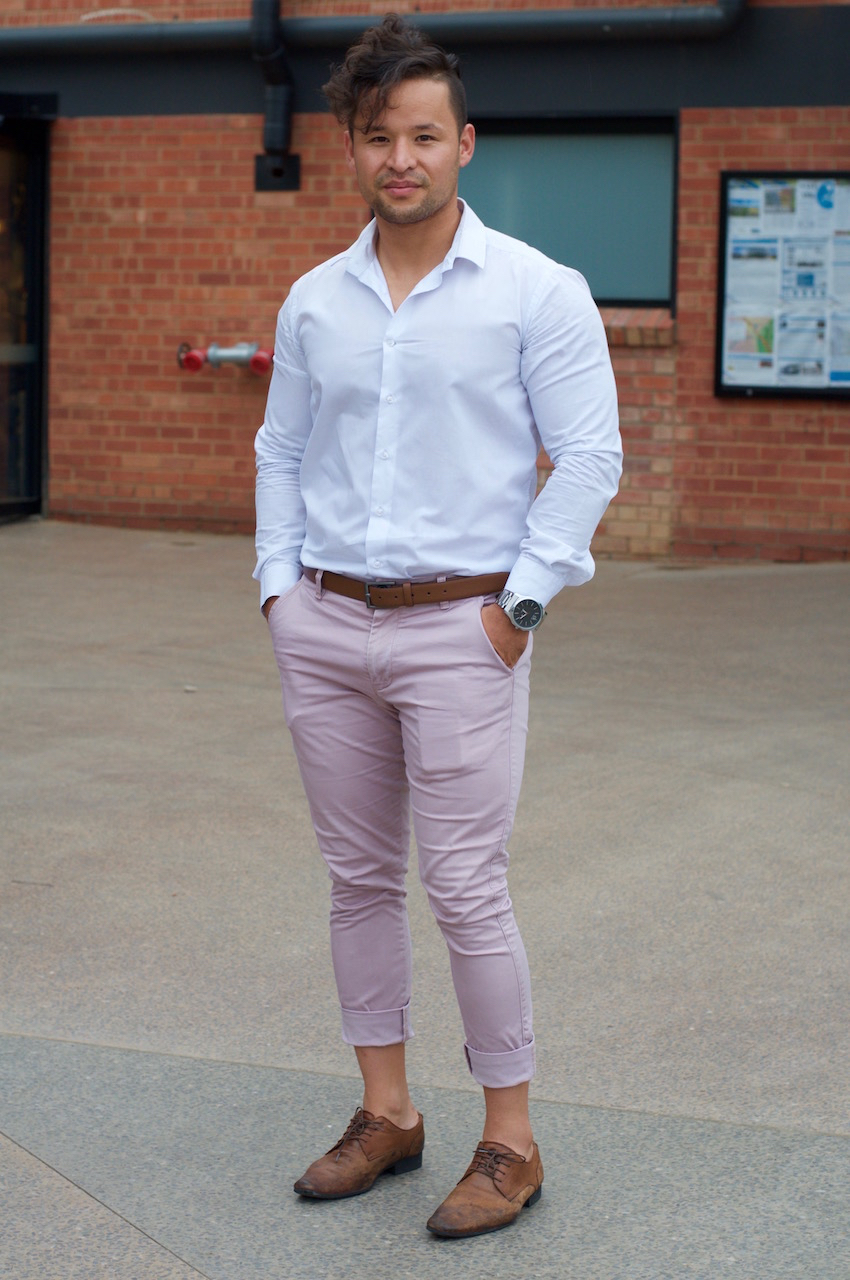 "SA: Ali Ahmadi, student & stylist, Bowden. ""I see fashion as a way of speaking your mind."""
