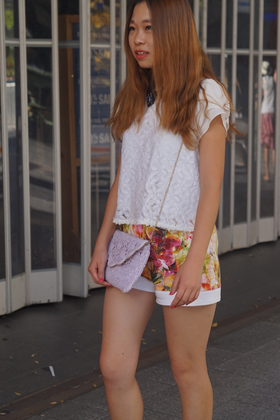 "SA Vera Wang, student, Rundle Mall. ""All my stuff is from China. I like to wear what I like."""