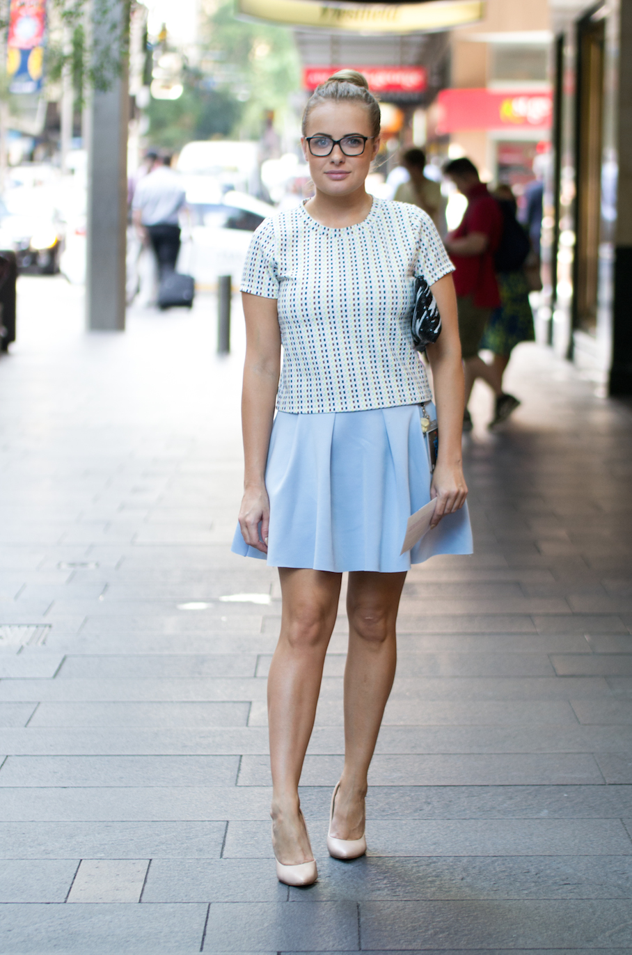 NSW: Ksenia Cunico, Personal Assistant, Sydney CBD. Photo: Alice Sciberras.